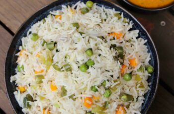 vegetable rice recipe | mix veg rice | quick one pot vegetable rice