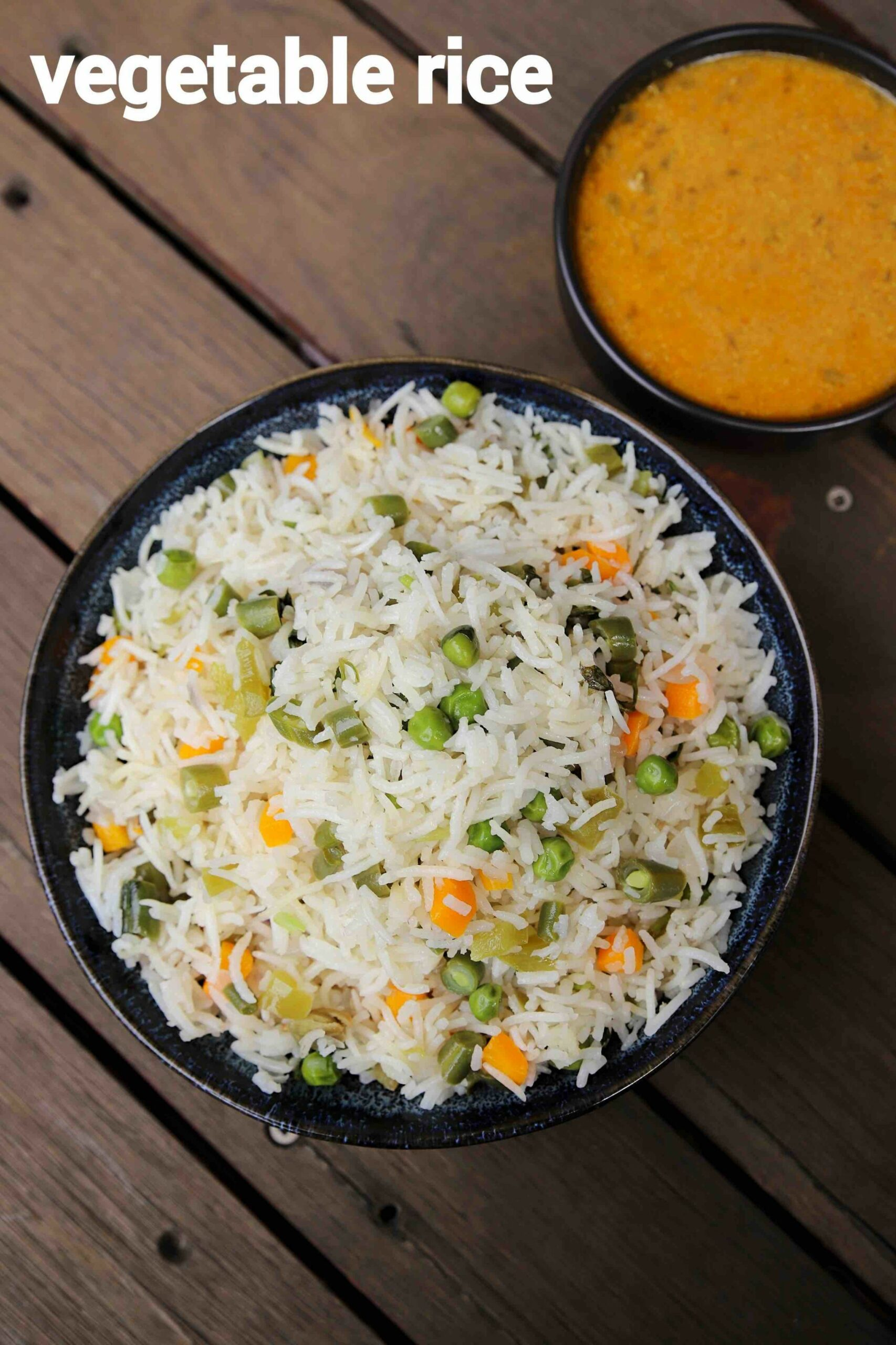 vegetable rice recipe | mix veg rice | quick one pot vegetable rice - Rice Recipes Veg