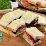 Vegetable Sandwich (Mumbai Roadside Recipes) by Tarla Dalal