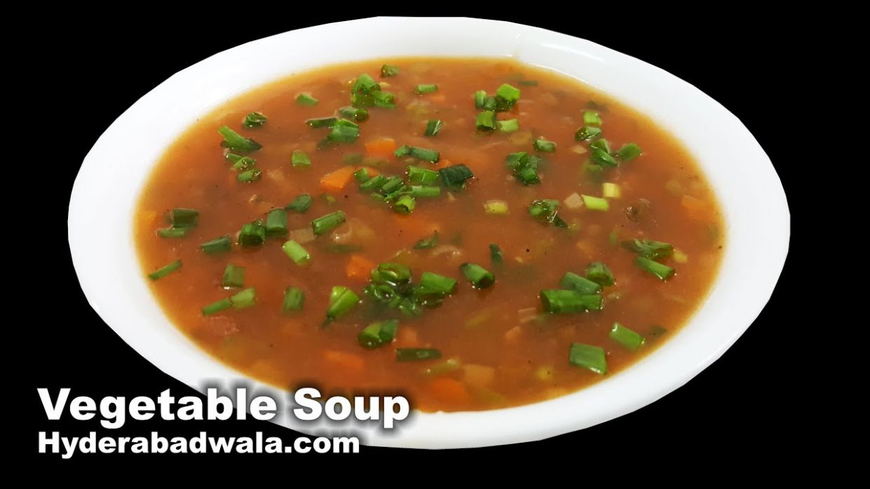 Vegetable Soup Recipe Video – How to Make Healthy Vegetable Soup at Home –  Easy & Simple - Soup Recipes Video