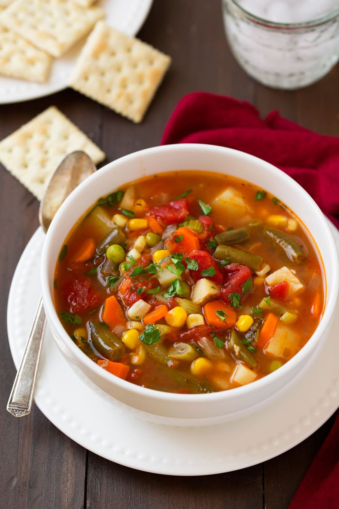 Vegetable Soup - Soup Recipes Easy To Make