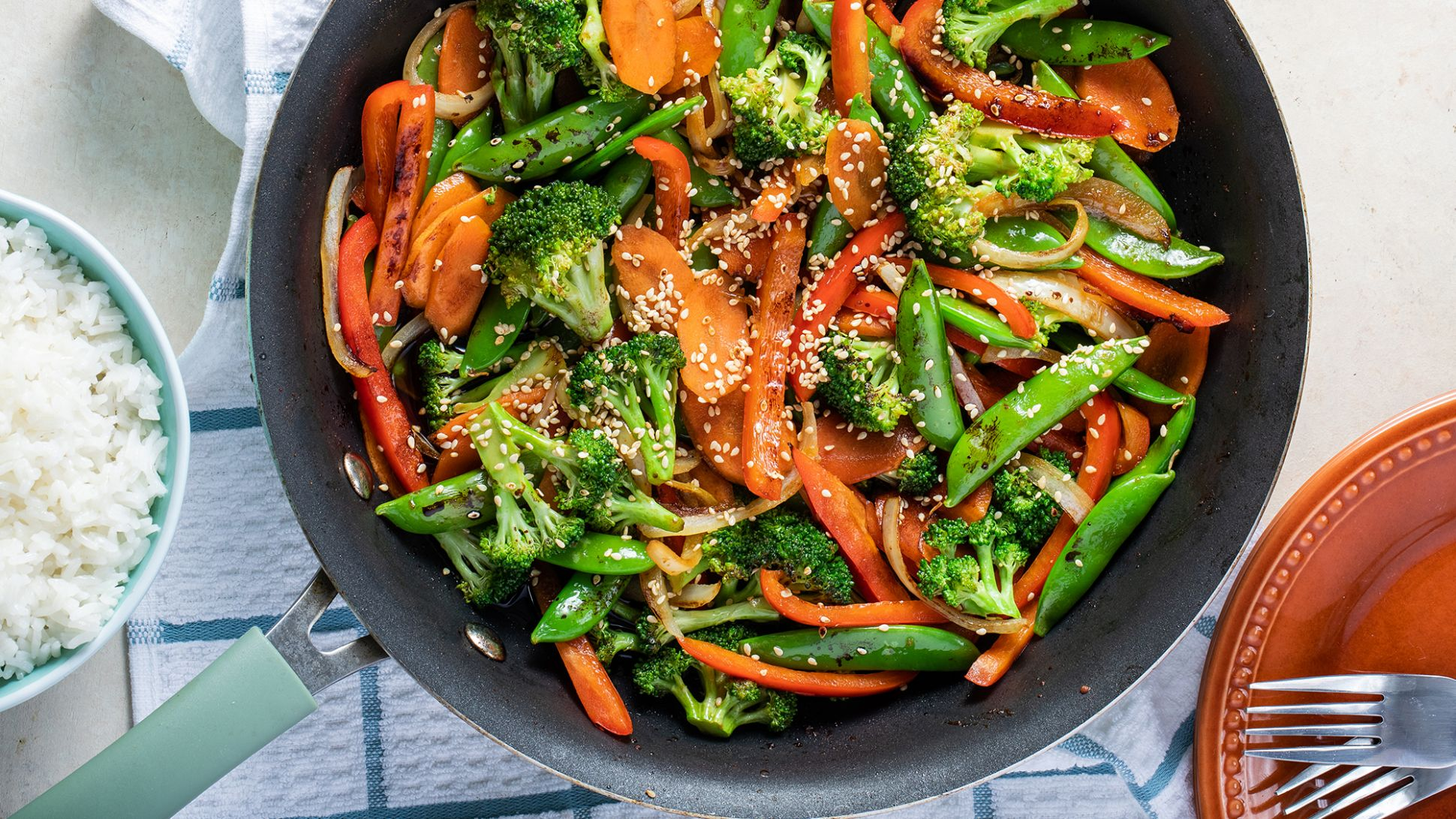 Vegetable Stir Fry Recipe | McCormick - Recipes Of Vegetable Dishes