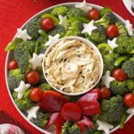 Vegetable Wreath With Dip – Recipes Vegetable Dip