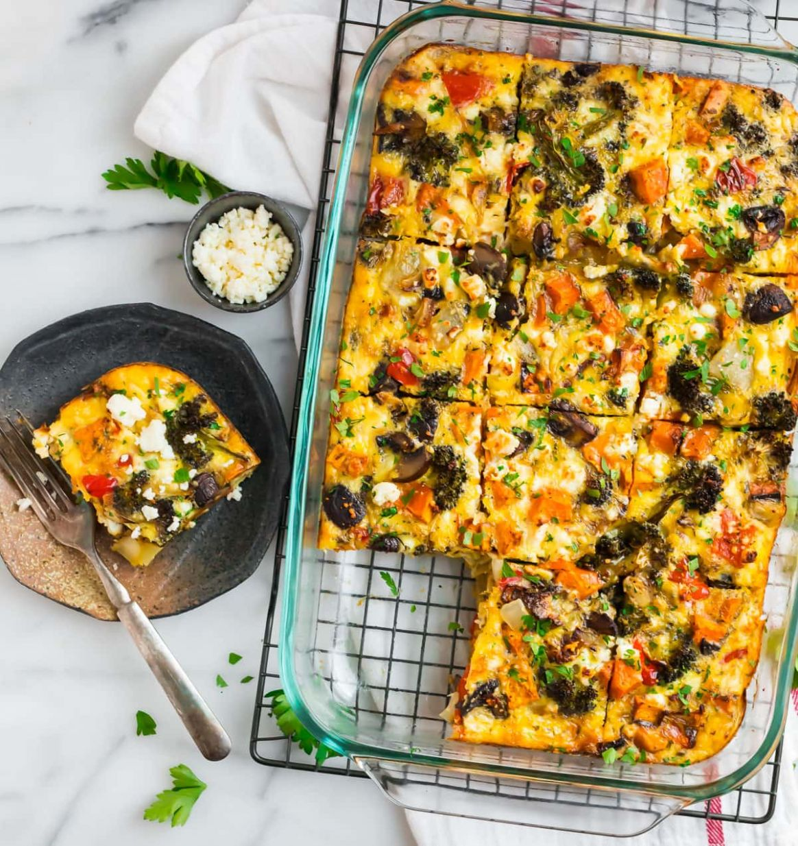 Vegetarian Breakfast Casserole - Breakfast Recipes Vegetarian
