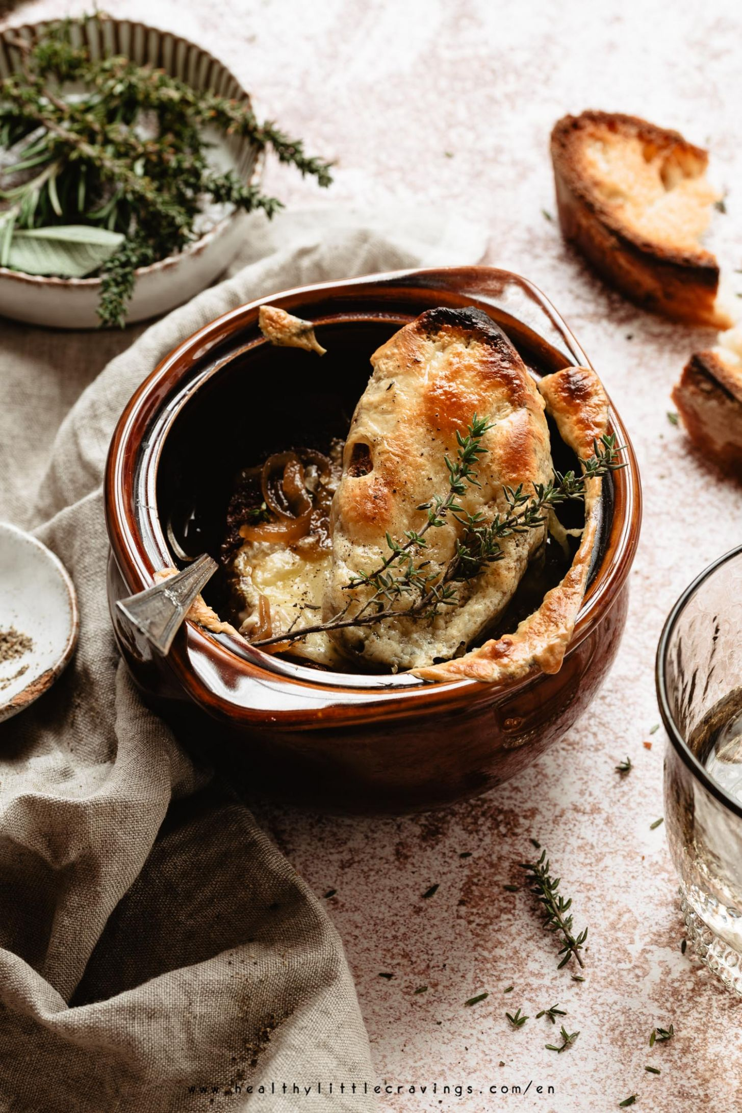 VEGETARIAN FRENCH ONION SOUP [EASY RECIPE] - Recipe Vegetarian French Onion Soup