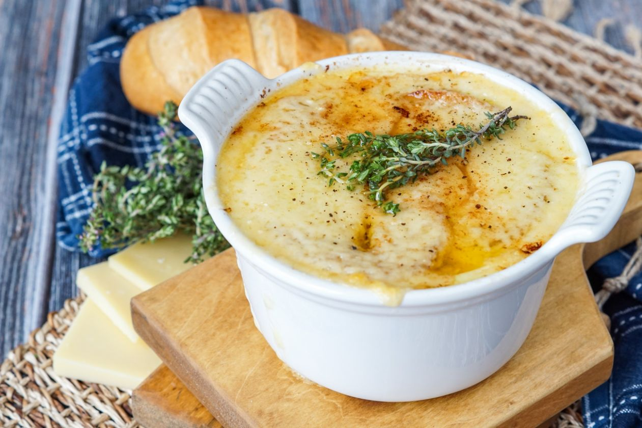 Vegetarian French Onion Soup - Recipe Vegetarian French Onion Soup