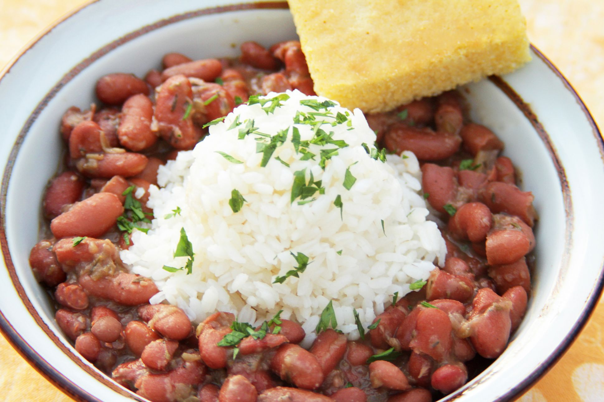 Vegetarian Louisiana-Style Red Beans and Rice - Recipe Vegetarian Red Beans And Rice