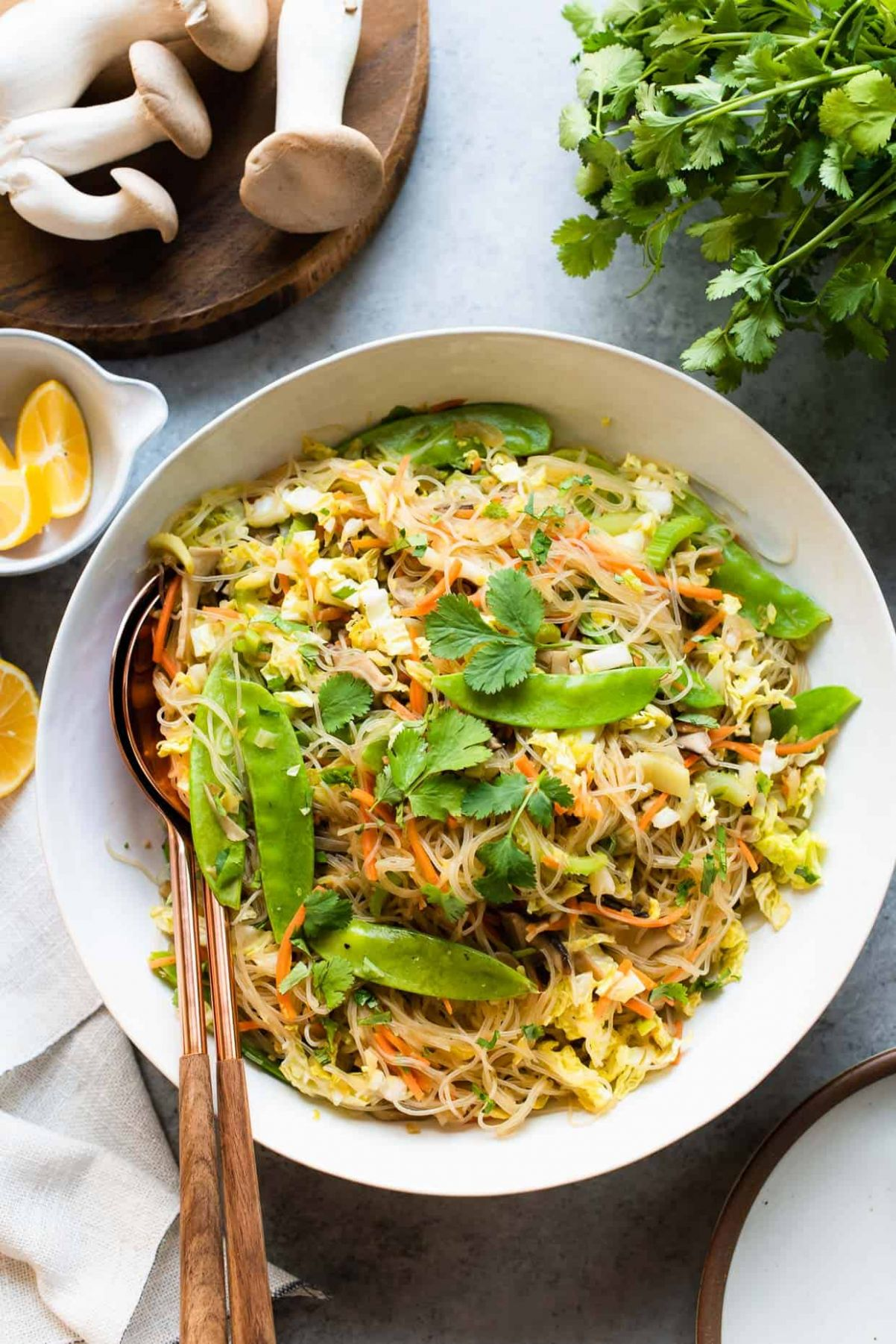 Vegetarian Pancit Bihon - Vegetable Recipes In The Philippines