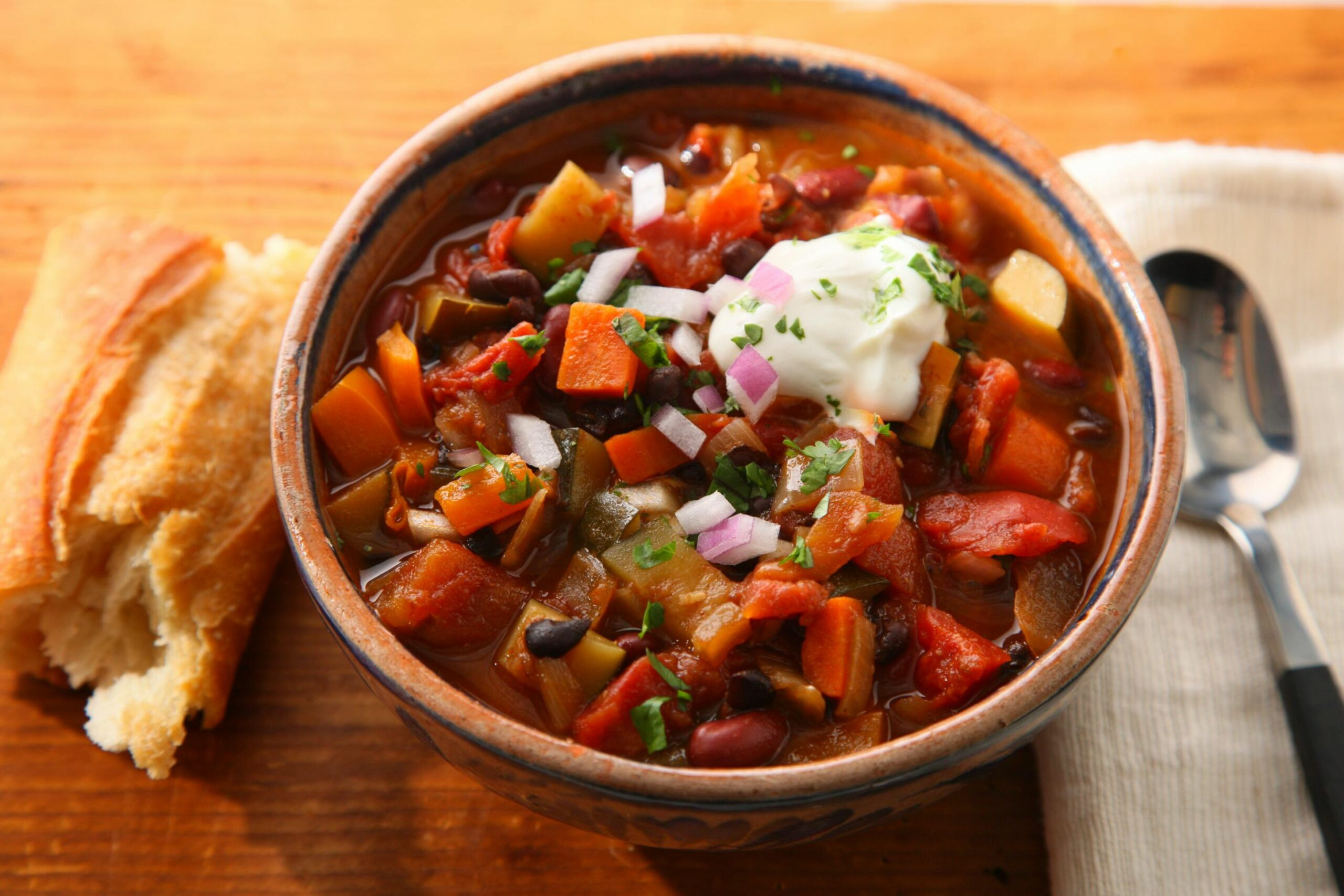 veggie chilli - Recipes Vegetable Chilli
