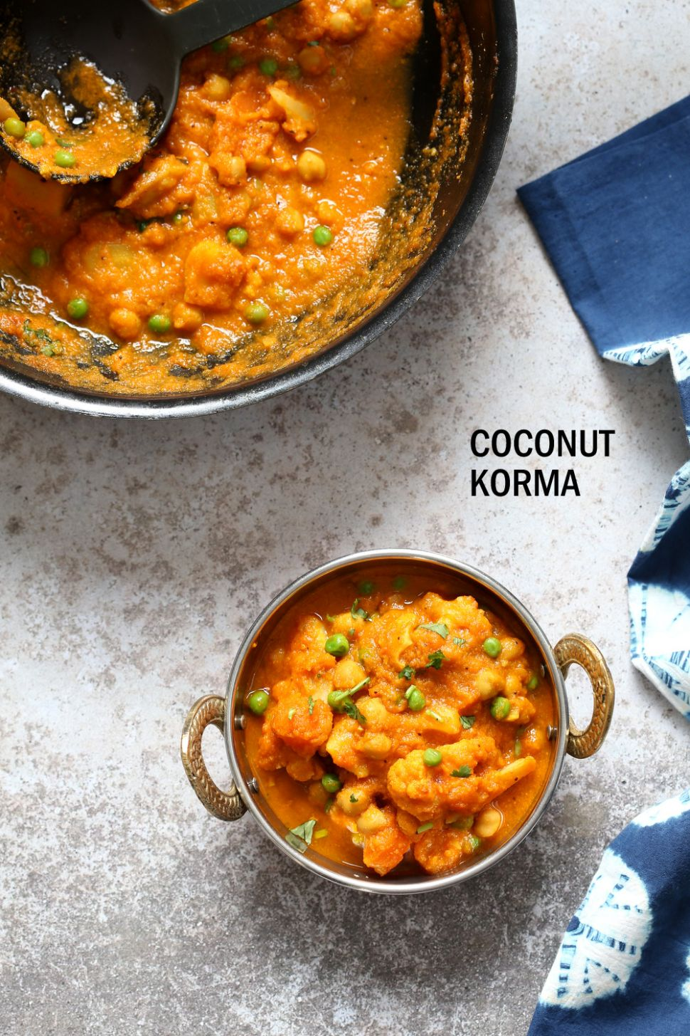 Veggie Kurma - Easy Coconut Korma Sauce with Vegetables - Recipes Vegetable Korma