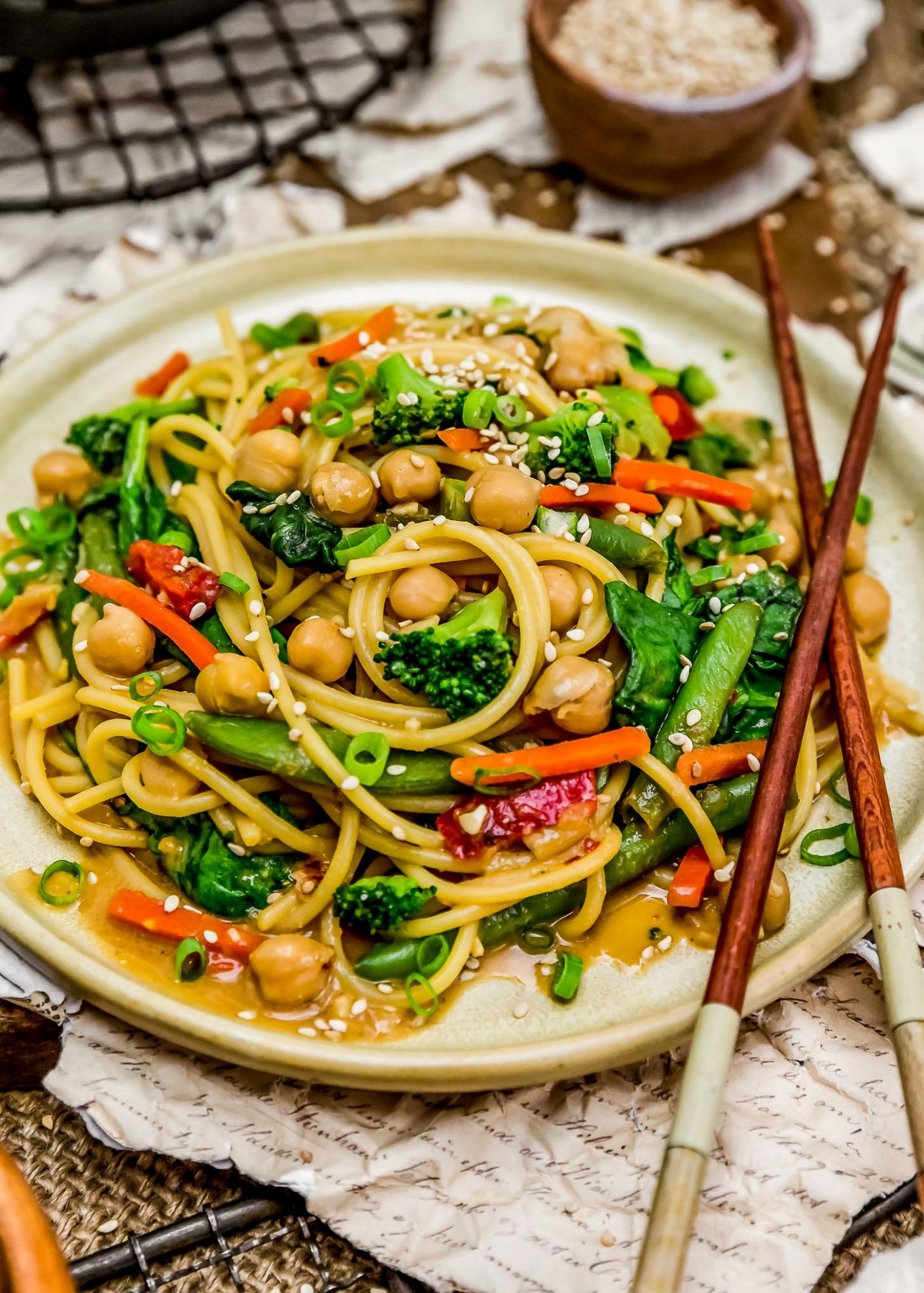 Veggie Lo Mein - Recipes Vegetable Lo Mein