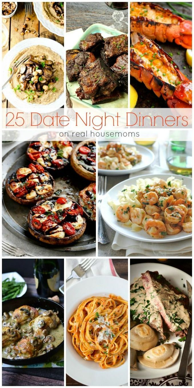 We love these 9 DATE NIGHT DINNERS for a fun date-night in ..