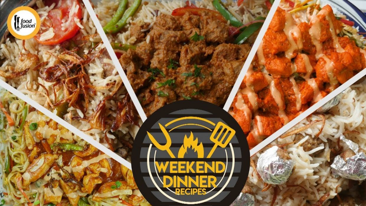 Weekend Dinner Recipes By Food Fusion - Dinner Recipes Youtube