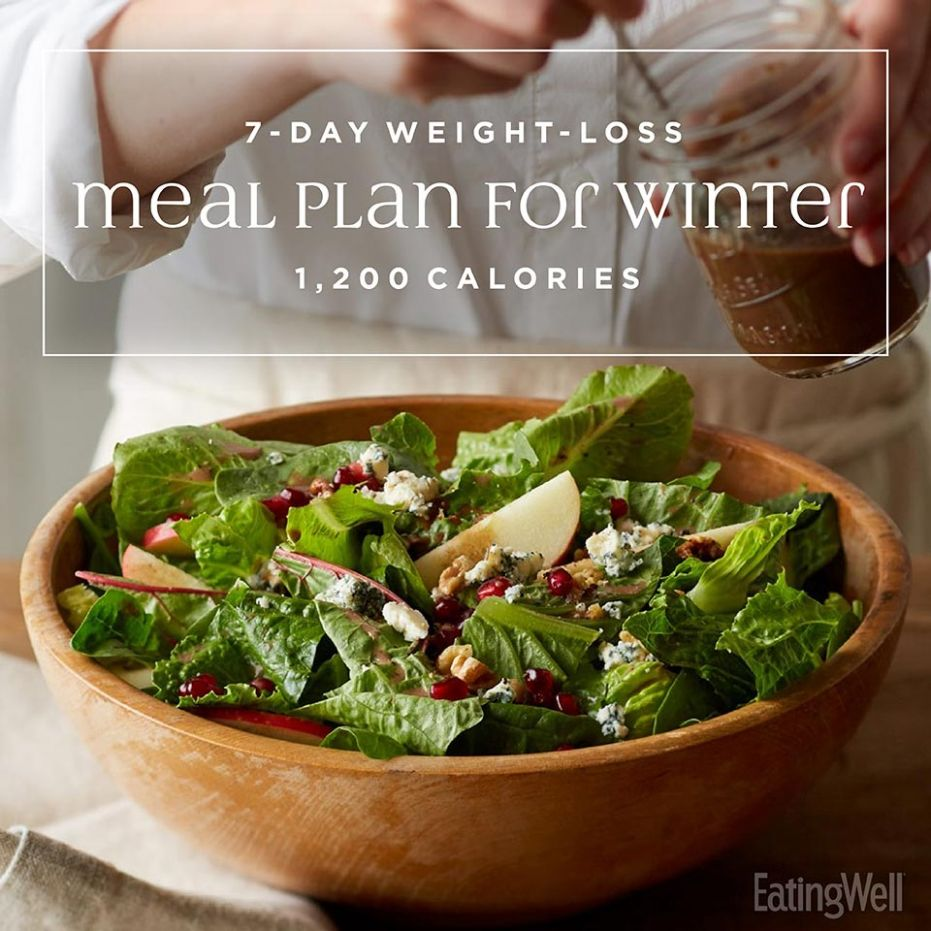 Weight-Loss Meal Plan for Winter: 11,11 Calories | EatingWell - Recipes Weight Loss Plan