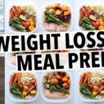 WEIGHT LOSS MEAL PREP FOR WOMEN (1111 WEEK IN 1111 HOUR) – Weight Loss Recipes Youtube