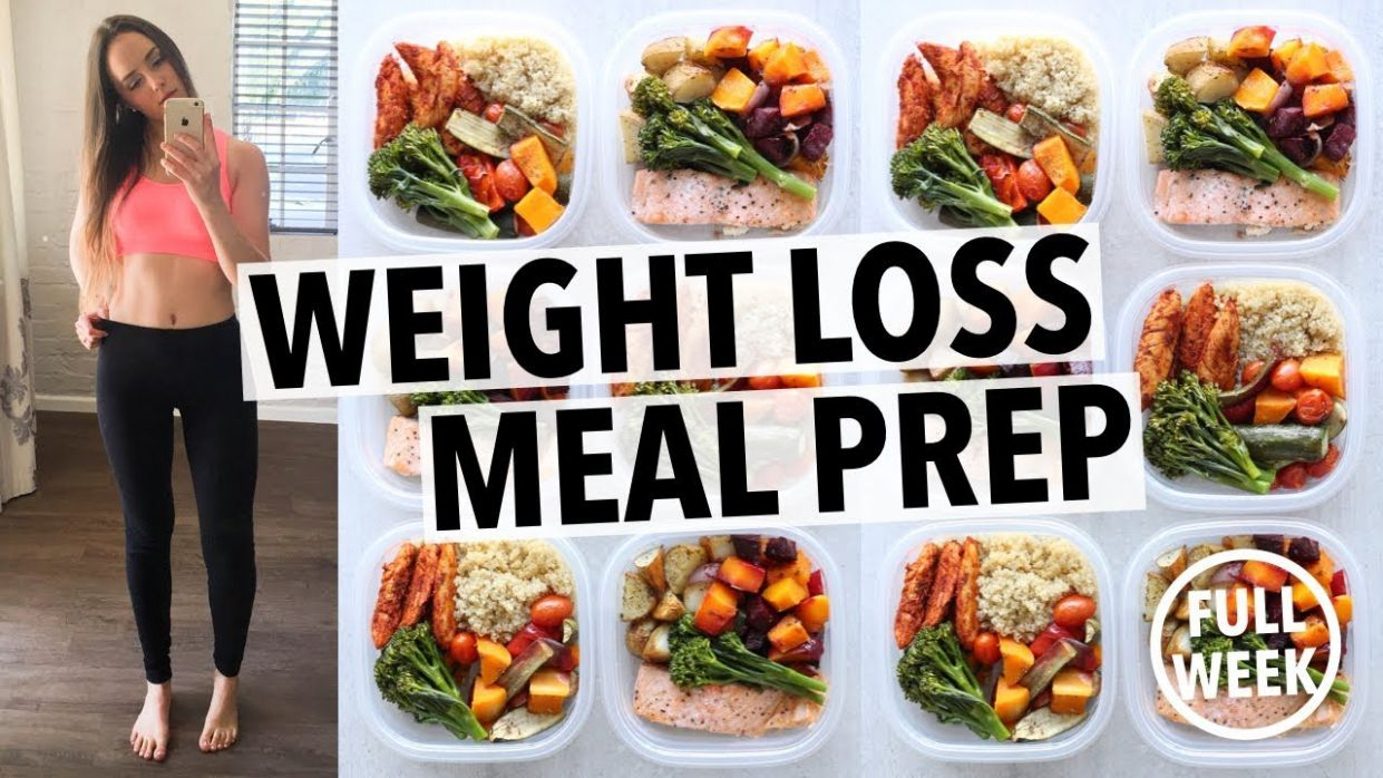 WEIGHT LOSS MEAL PREP FOR WOMEN (1111 WEEK IN 1111 HOUR) - Weight Loss Recipes Youtube