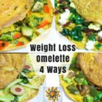 Weight Loss Omelette 8 Ways | Healthy Egg Omelette 8 Ways | Loaded Veggie  Omelette – Egg Recipes For Weight Loss Indian