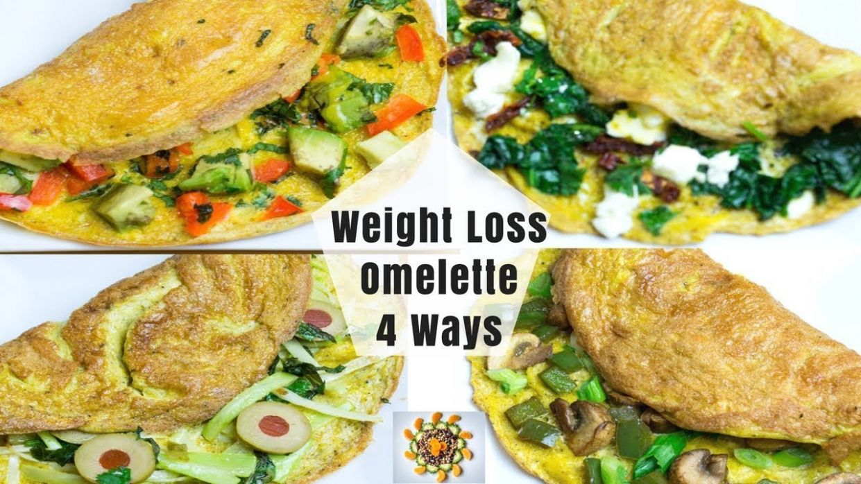 Weight Loss Omelette 8 Ways | Healthy Egg Omelette 8 Ways | Loaded Veggie  Omelette - Egg Recipes For Weight Loss Indian
