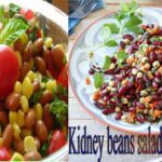 Weight Loss Salad Recipe For Dinner – How To Lose Weight Fast With  Salad Indian Kidney Beans Salad – Recipes For Weight Loss Fast