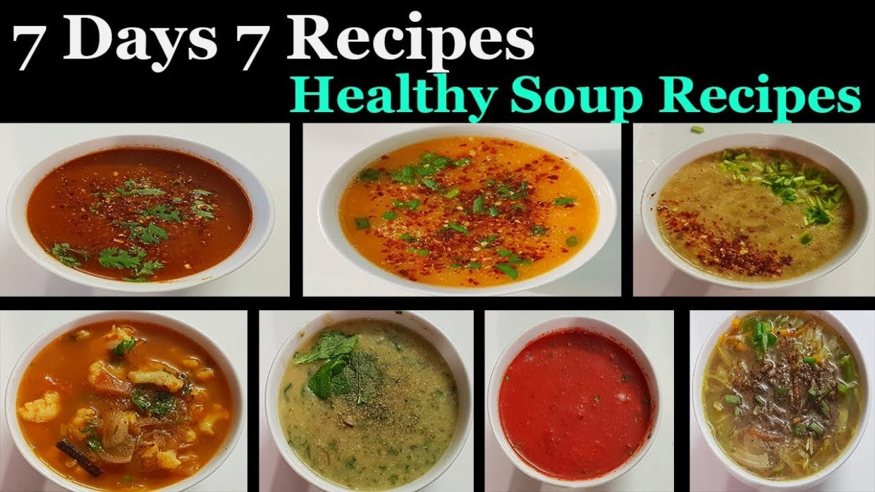Weight Loss Soup Recipes in Tamil || 12 Days 12 Recipes Healthy Soup  Varieties in Tamil - Soup Recipes In Tamil