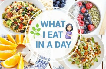 What I Eat In a Day While Pregnant