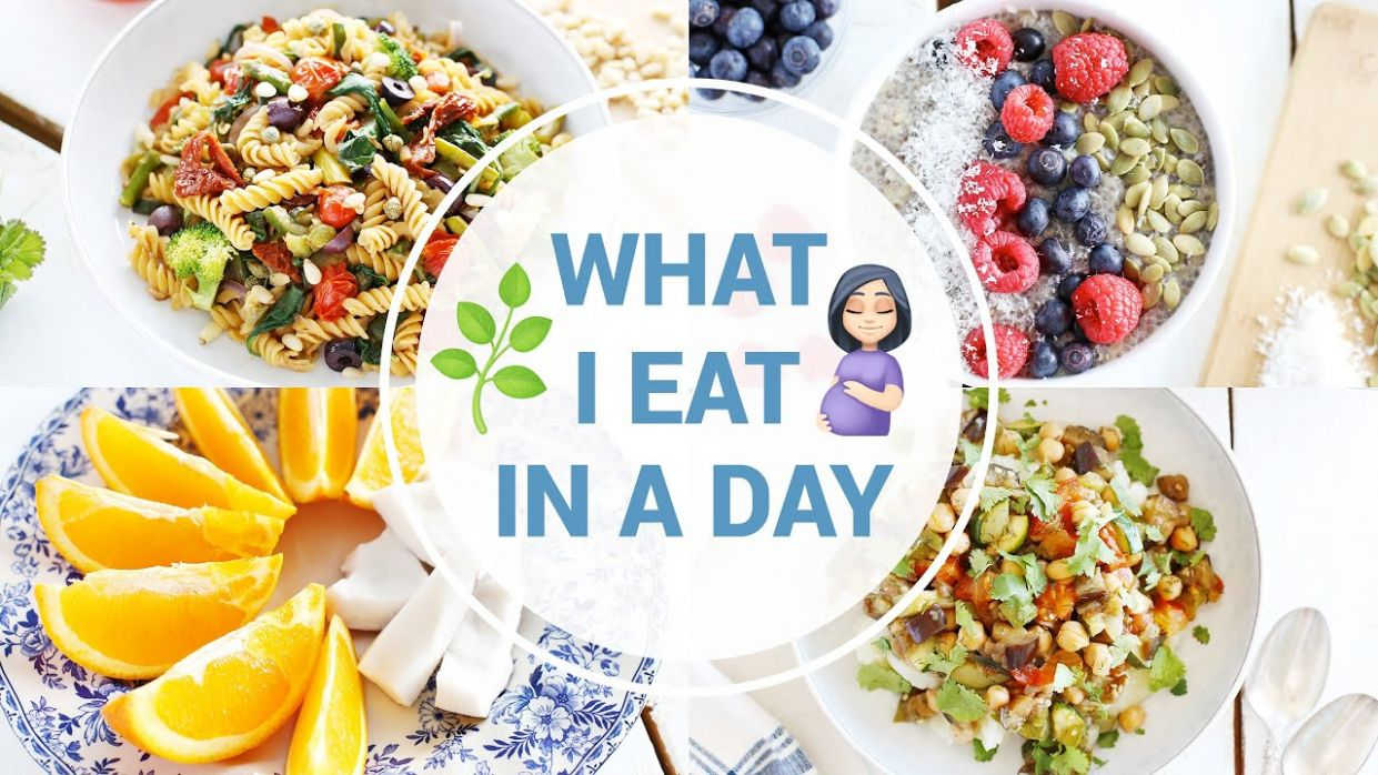 What I Eat In a Day While Pregnant - Healthy Recipes In Pregnancy