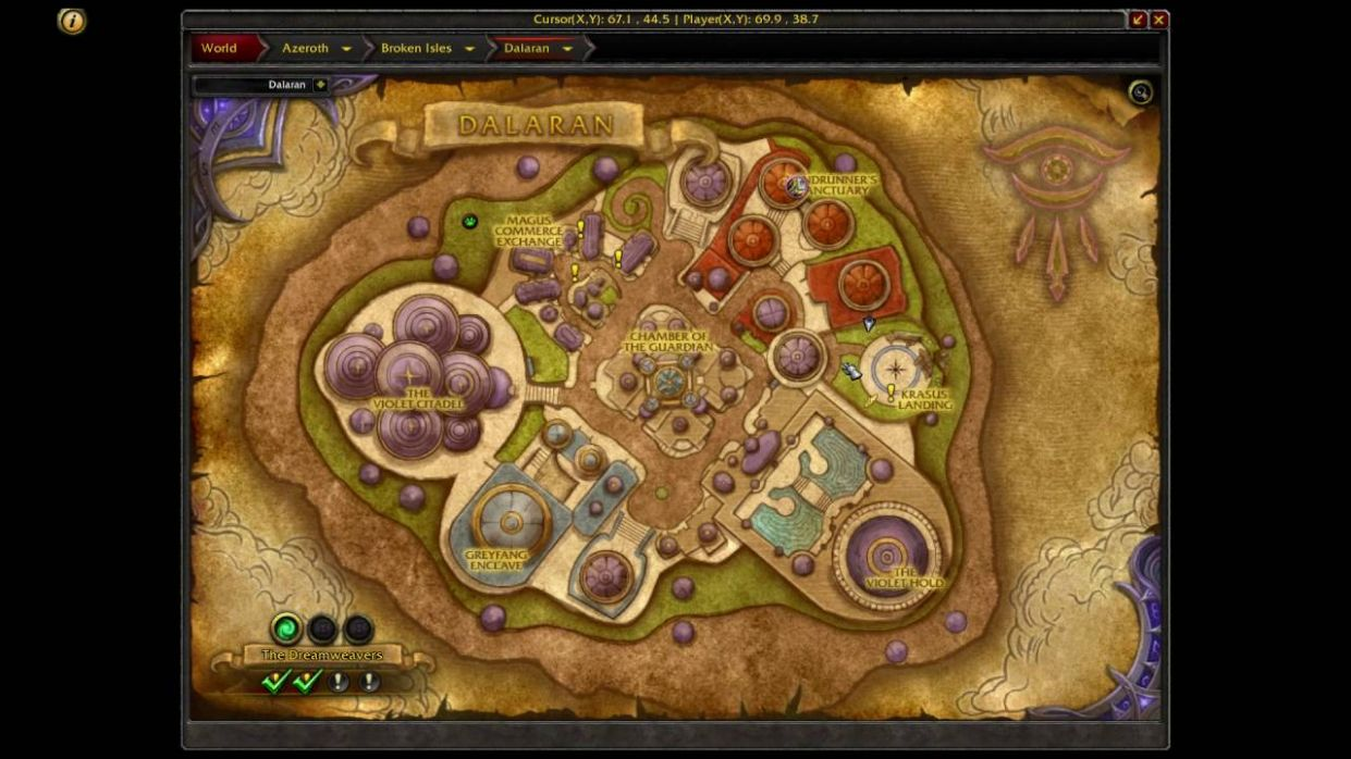 Where is Cooking Trainer in Dalaran WoW Legion Horde - Recipes Cooking Wow 3.3