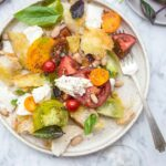 White Bean Caprese Panzanella – Recipes Summer Lunch