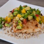 White Fish With Avocado Mango Salsa – Recipe Fish With Mango Salsa