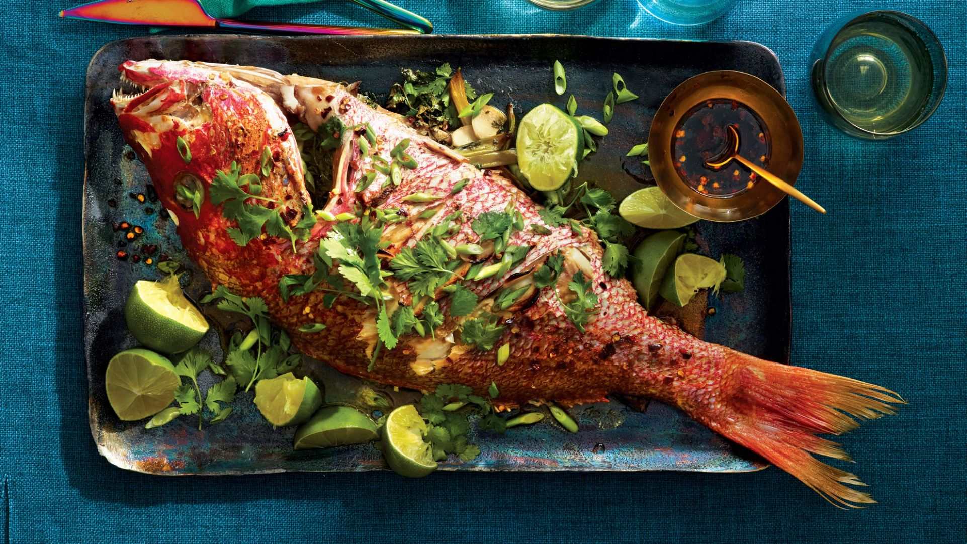Whole Roasted Chinese Red Snapper - Recipes Red Fish