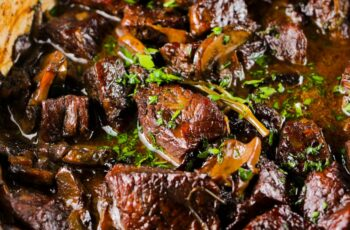Wild Mushroom and Beef Stew - Girl and the Kitchen