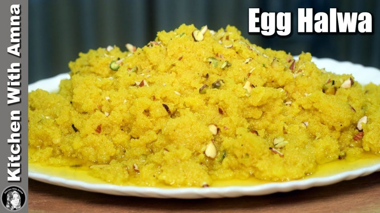 Winter Special Anday Ka Halwa With Homemade Khoya - Egg Halwa ..