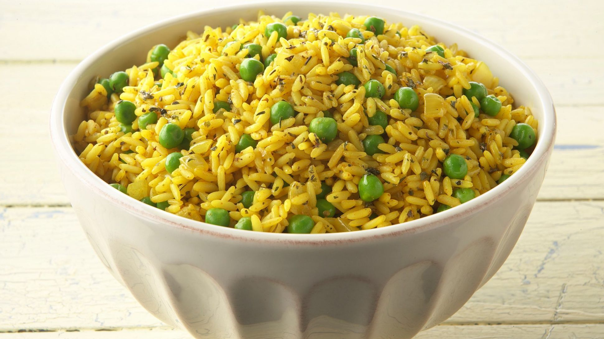 Yellow Rice with Peas - Recipes Rice And Peas