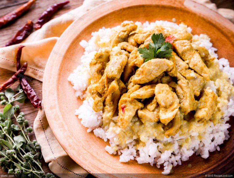 Yogurt-Curry Chicken - Recipe Chicken Yogurt Curry