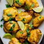 Yogurt Curry Chicken Thighs