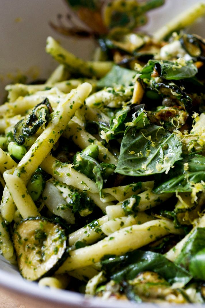 Yotam Ottolenghi's Pasta and Zucchini Salad Recipe - NYT Cooking - Pasta Recipes Ottolenghi