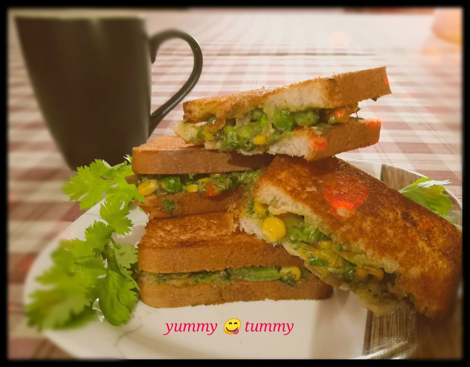 Yummytummy: Veg Mayonnaise Sandwich - Sandwich Recipes Yummy Tummy