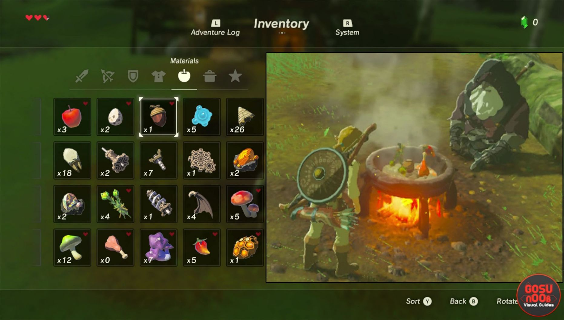 Zelda Breath of The Wild Cooking Recipes - How to Cook - Cooking Recipes Zelda Breath