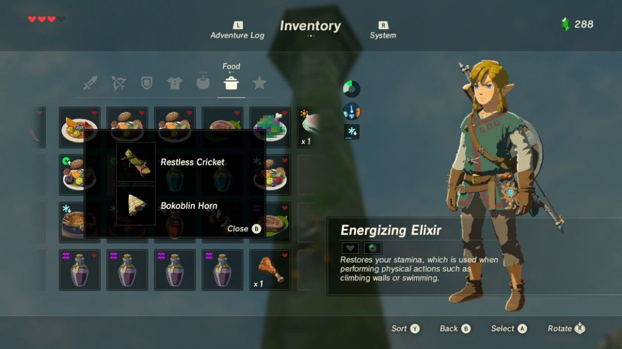 Zelda: Breath Of The Wild - Cooking Tips And Tricks | Legend of ...