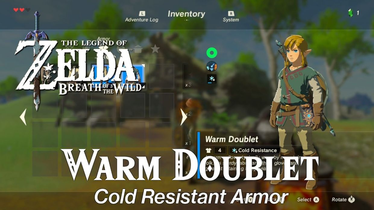 Zelda Breath of the Wild • Spicy Meat and Seafood Fry Dish • Warm Doublet - Fish Recipes Zelda