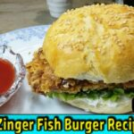 Zinger Fish Burger | KFC Style | In Urdu/Hindi | Kitchen With Harum – Recipe Of Fish Zinger