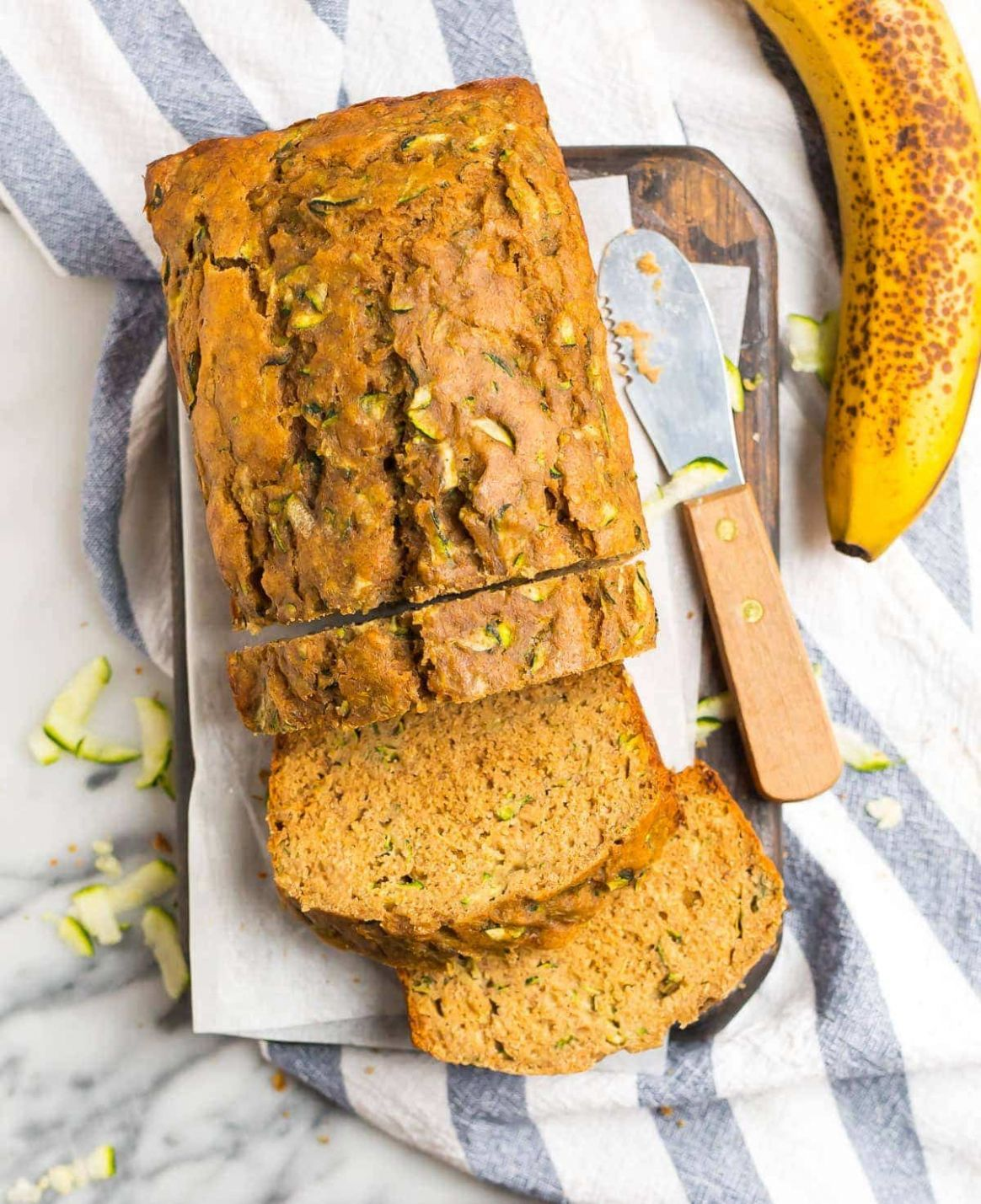 Zucchini Banana Bread - Healthy Recipes Zucchini Bread