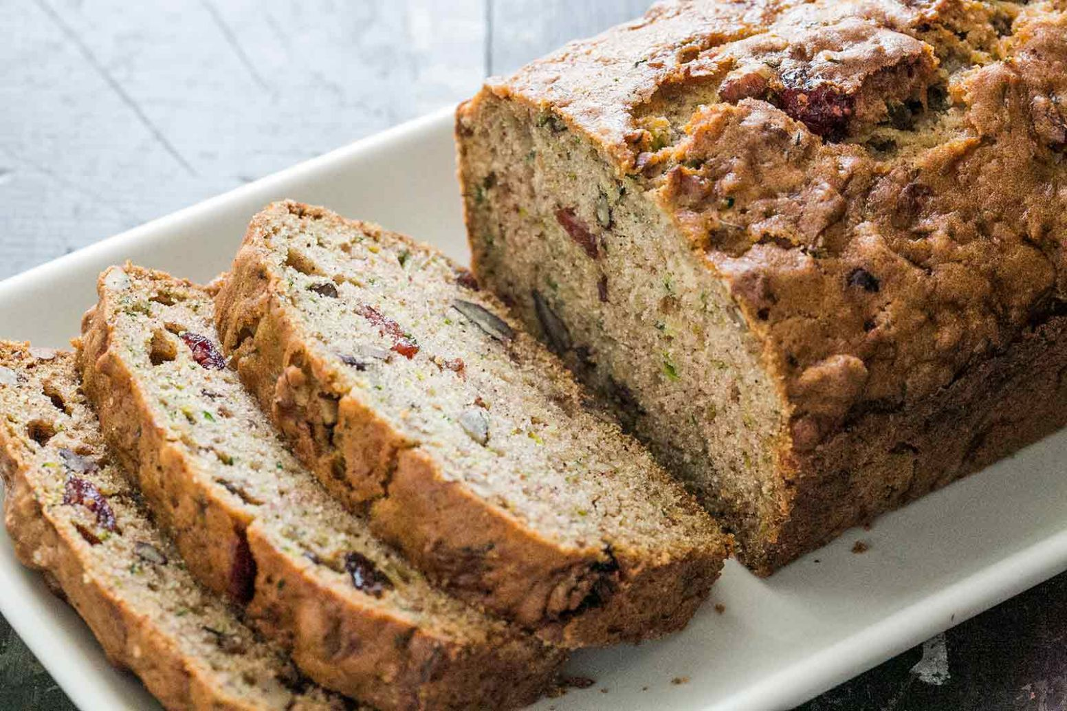 Zucchini Bread - Healthy Recipes Zucchini Bread