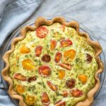 Zucchini Tomato Quiche – Recipes For Summer Quiches