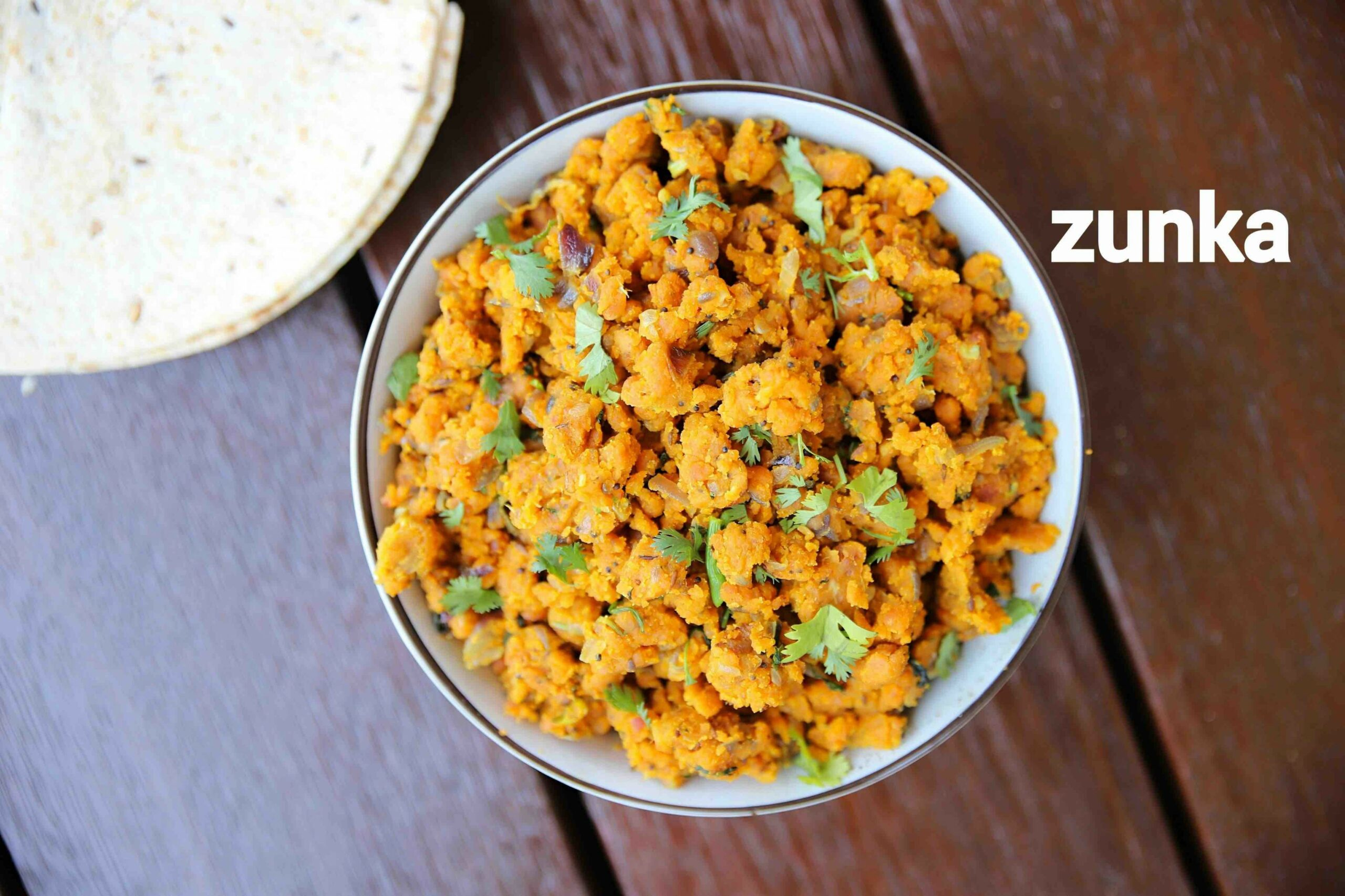 zunka recipe | jhunka recipe | marathi zunka recipe | dry pitla - Cooking Recipes Marathi